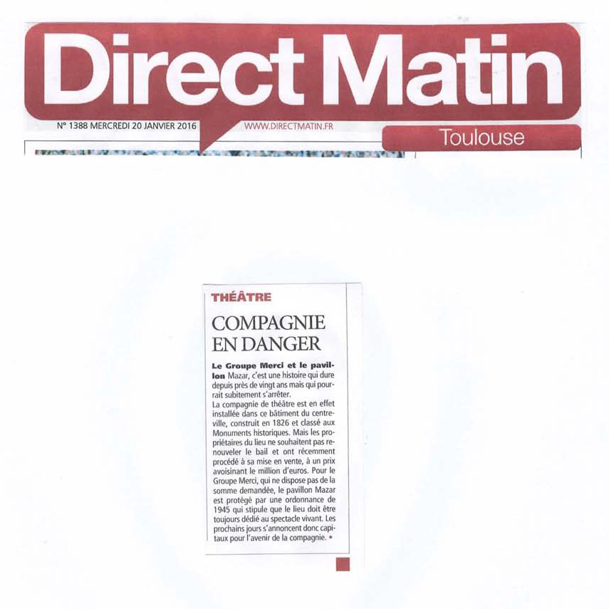 Direct Matin - 20160220